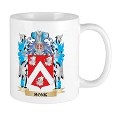Monk Coat of Arms - Family Crest Mugs