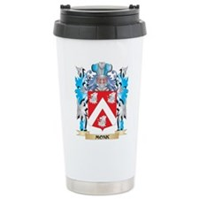 Monk Coat of Arms - Fam Travel Coffee Mug