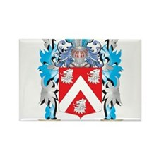 Monk Coat of Arms - Family Crest Magnets