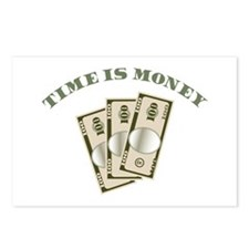 Time Is Money Postcards (Package of 8)