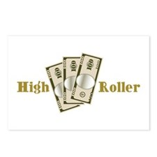 High Roller Postcards (Package of 8)
