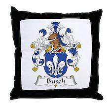 Busch Throw Pillow