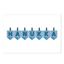 Hanukkah Dreidels Postcards (Package of 8)