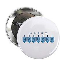 """Happy Hanukkah 2.25"""" Button (10 pack)"""