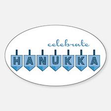 Celebrate Hanukka Decal