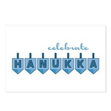 Celebrate Hanukka Postcards (Package of 8)