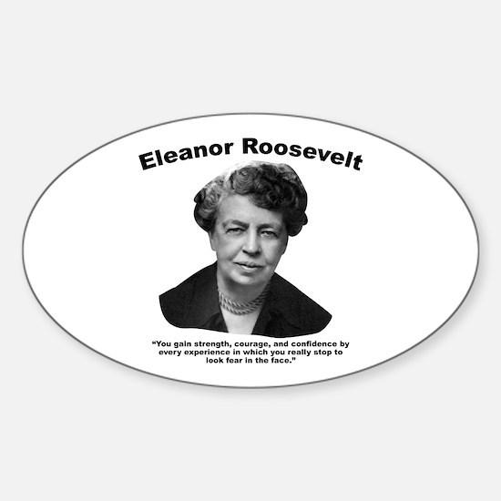 Eleanor: Confidence Sticker (Oval)