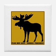 Please Drive Safely, Canada Tile Coaster