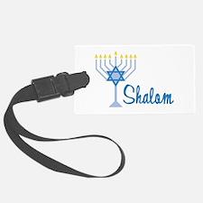 Shalom Luggage Tag