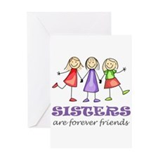 Sisters Greeting Cards