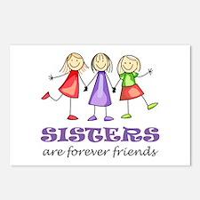 Sisters Postcards (Package of 8)
