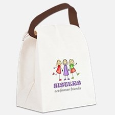 Sisters Canvas Lunch Bag