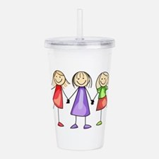 BEST FRIENDS FOREVER Acrylic Double-wall Tumbler