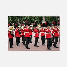 Cute Buckingham palace guard Rectangle Magnet
