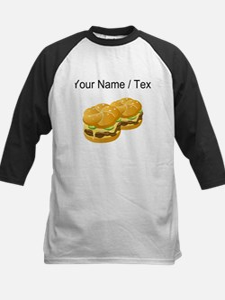 Custom Cheeseburgers Baseball Jersey