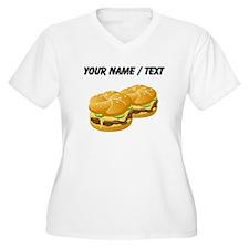 Custom Cheeseburgers Plus Size T-Shirt