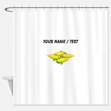 Custom Corn On The Cob Shower Curtain