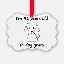 13 dog years 6 - 2 Ornament
