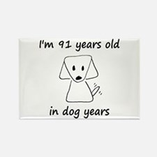 13 dog years 6 - 2 Magnets
