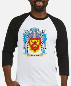 Morris- Coat of Arms - Family Cres Baseball Jersey