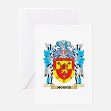 Morris- Coat of Arms - Family Crest Greeting Cards