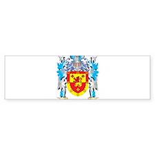 Morris- Coat of Arms - Family Crest Bumper Bumper Sticker