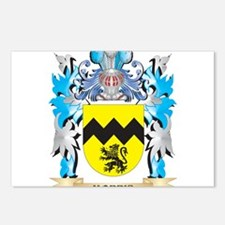 Morris Coat of Arms - Fam Postcards (Package of 8)