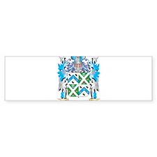 Morris Coat of Arms - Family Crest Bumper Bumper Sticker