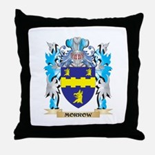 Morrow Coat of Arms - Family Crest Throw Pillow