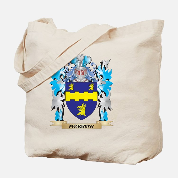 Morrow Coat of Arms - Family Crest Tote Bag