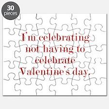 I'm Celebrating Not Having To Puzzle