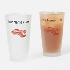 Custom Bacon Drinking Glass