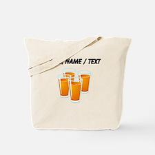 Custom Orange Juice Tote Bag
