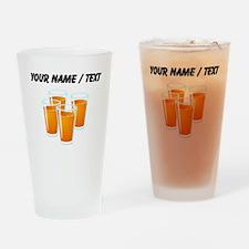 Custom Orange Juice Drinking Glass