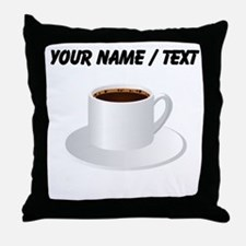 Custom Coffee Throw Pillow