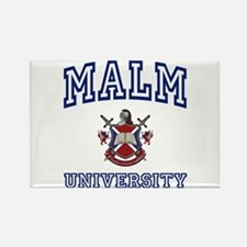 MALM University Rectangle Magnet