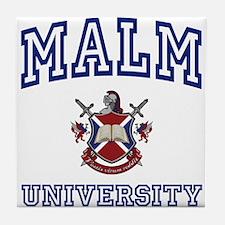 MALM University Tile Coaster