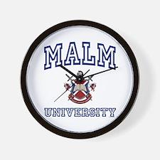 MALM University Wall Clock