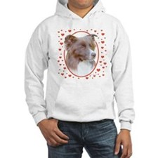 Border Collie Hearts Hoodie