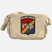 242nd ASH Company Muleskinners.png Messenger Bag