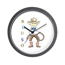 RODEO Wall Clock