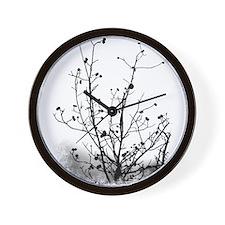 Leaf-Bare Walnut Tree Wall Clock