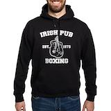 Irish pub boxing Hoodie (dark)