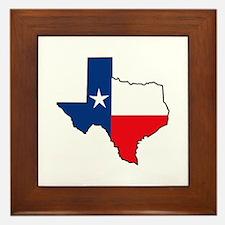 TEXAS STATE Framed Tile
