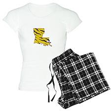 LOUISIANA TIGER STRIPED Pajamas