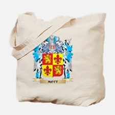 Mott Coat of Arms - Family Crest Tote Bag