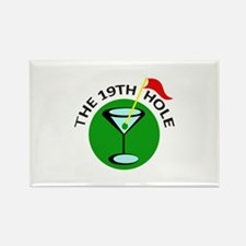 THE NINETEENTH HOLE Magnets