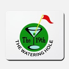 THE WATERING HOLE Mousepad