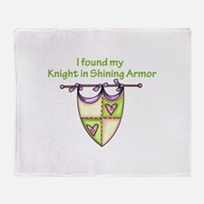 MY KNIGHT Throw Blanket