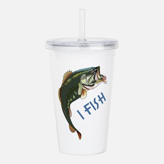 I FISH Acrylic Double-wall Tumbler